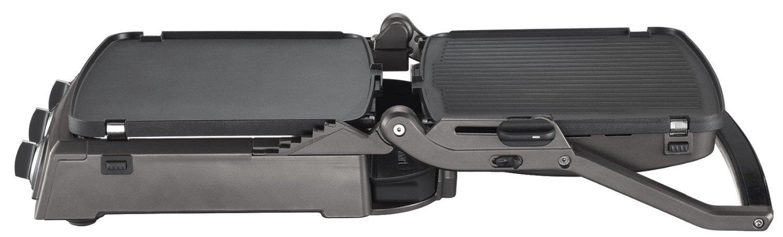 cuisinart gr50e griddler pro plan de cuisson multifonctions grill plancha barbecue panini. Black Bedroom Furniture Sets. Home Design Ideas