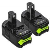 Meilleures batteries de remplacement pour Ryobi One + avec Indicateur LED